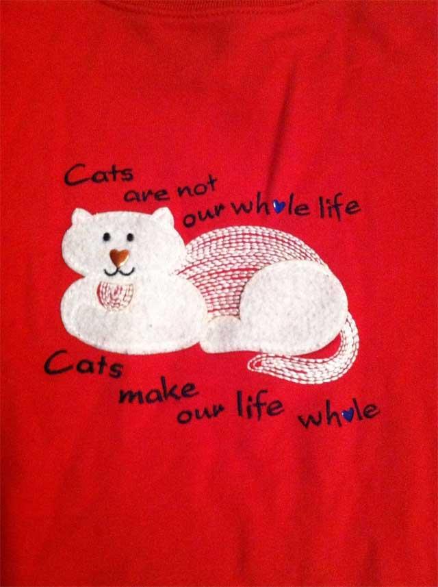 7. Cat Hoodie
