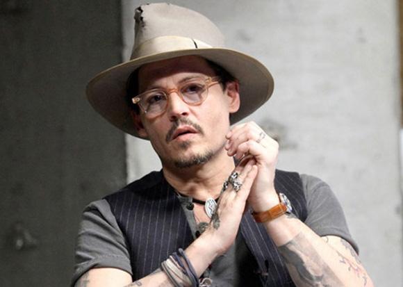 2. Johnny Depp