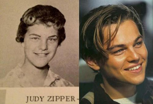 2. Leonardo DiCaprio and Judy Zipper