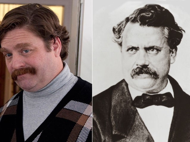 11. Zach Galifianakis and Louis Vuitton