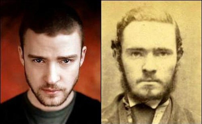 16. Justin Timberlake and a criminal from the past