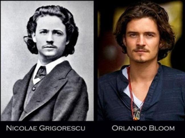 17. Orlando Bloom and Nicolae Grigorescu