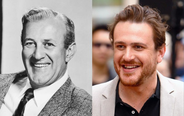 20. Jason Segal and actor Lee J. Cobb