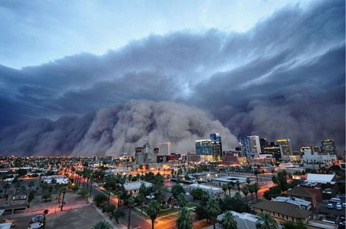 16. Dust Storms