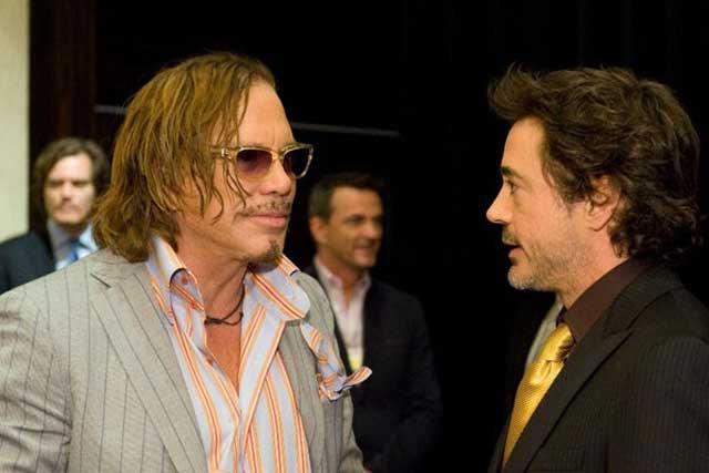 Ivan Vanko and Tony Stark