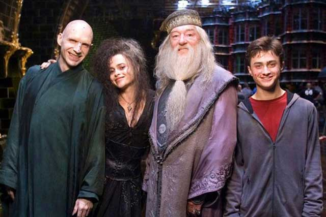 The Harry Potter cast