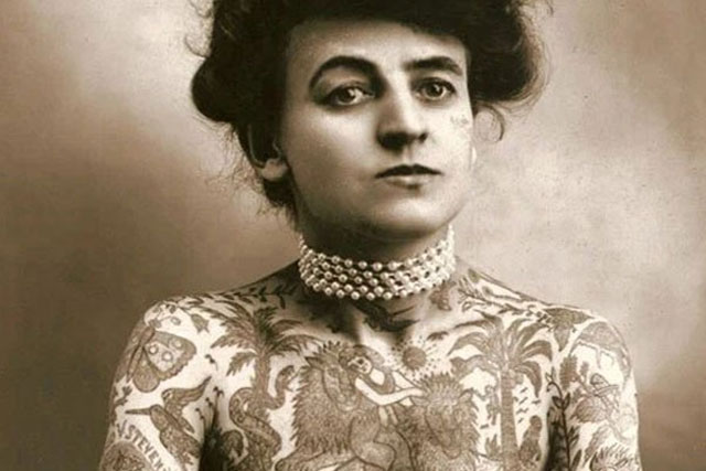 3. Maud Wagner (1877-1961)
