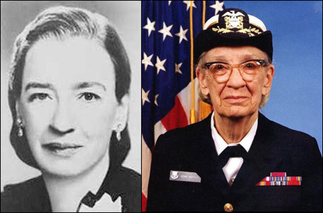 8. Dr. Grace Murray Hopper (1906-1992)