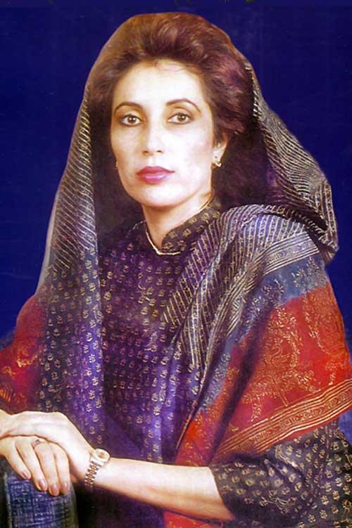 16. Benazir Bhutto (1953–2007)