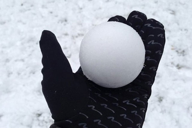 1. The world's most perfect snowball