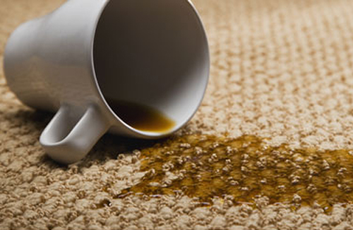 6. Remove carpet stains like magic.