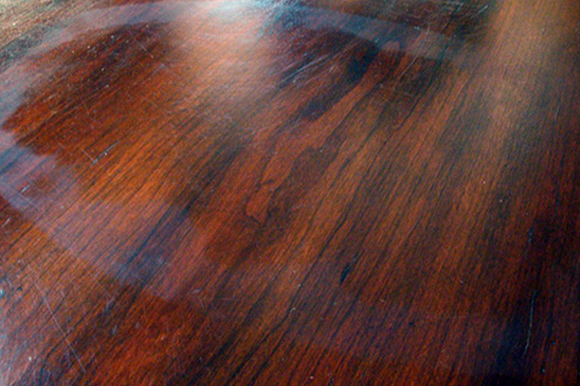 14. Remove water spots on wood furniture.