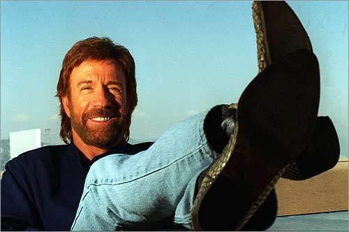 9. Chuck Norris