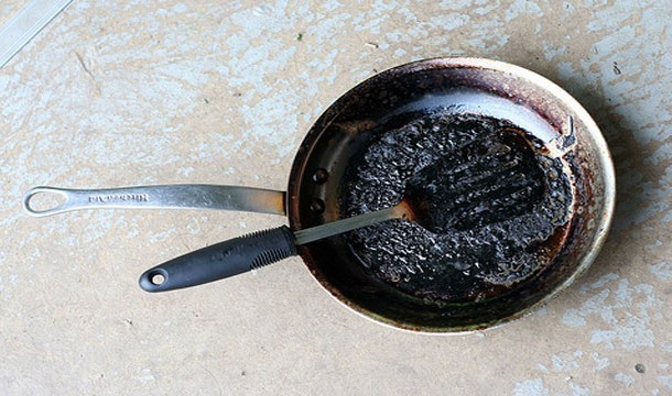 3. Say Goodbye to Burned Pans