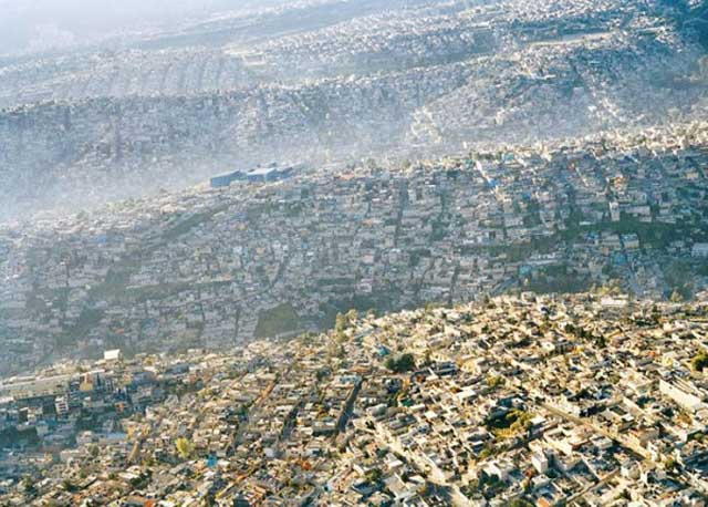 Overcrowded cities