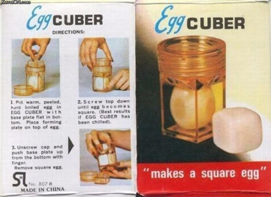 19. Cubed Eggs