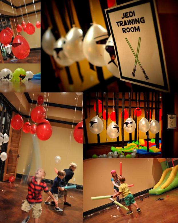 Stormtrooper balloons