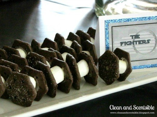 Oreo Tie Fighters