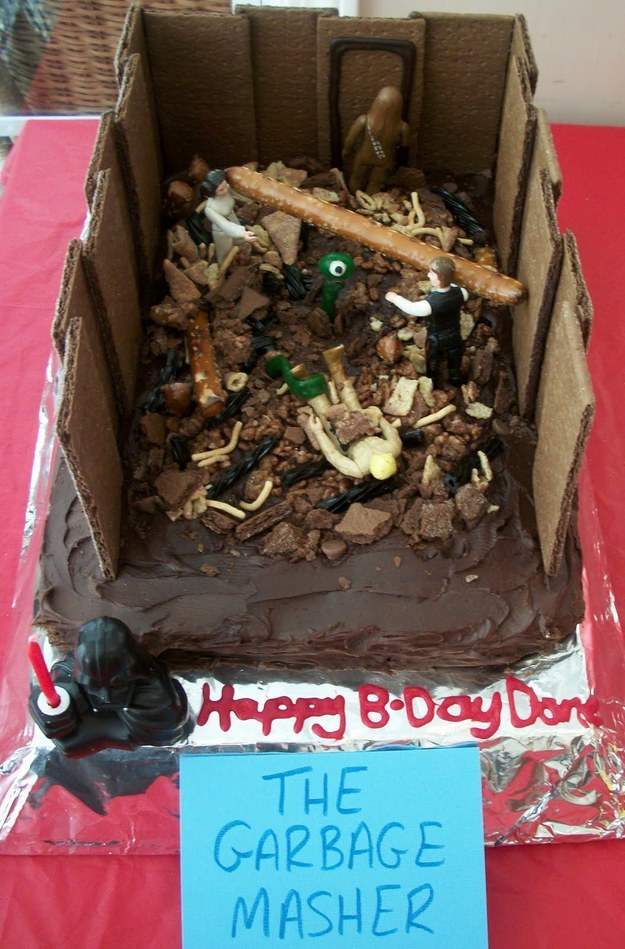 Garbage Masher Cake
