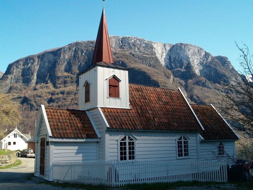 22. Smallest Church In Scandinavia, Undredal