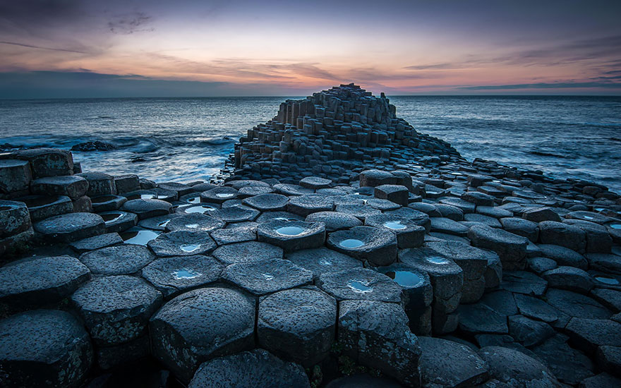 9. Giants Causeway In Northern Ireland