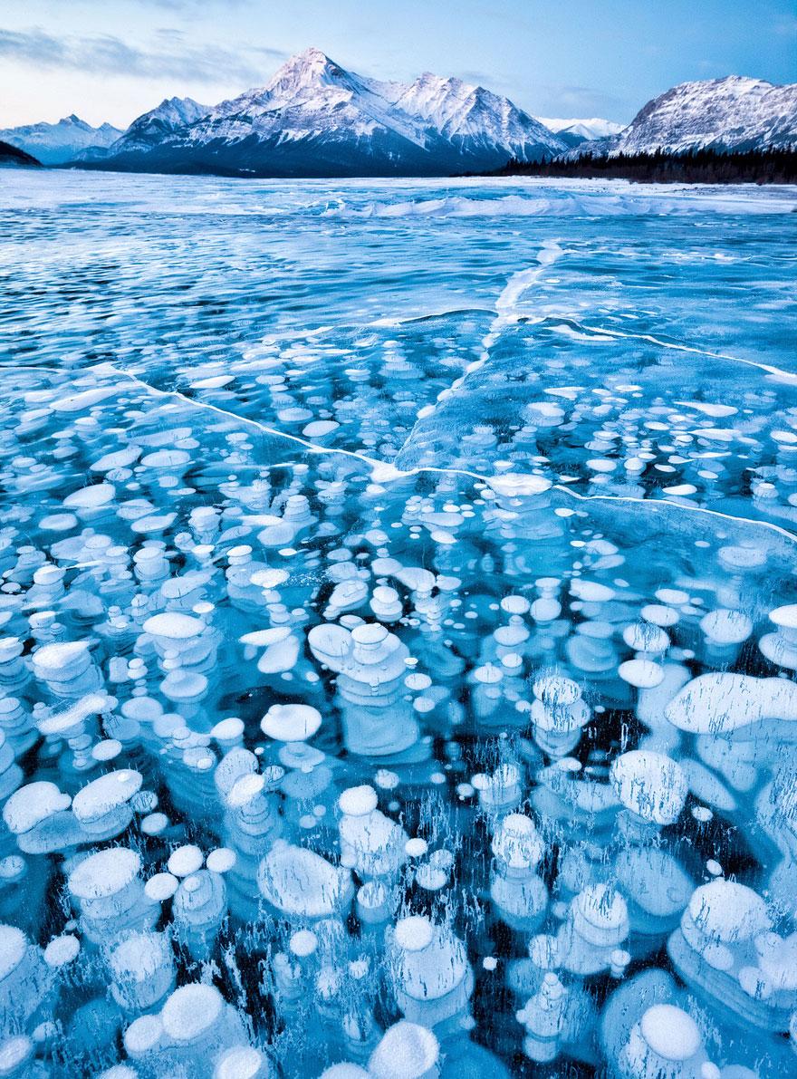 17. Abraham Lake, Canada