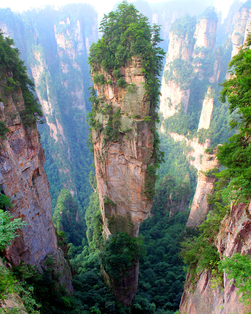 2. Tianzi Mountains, China