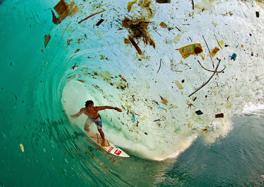 9. Trash wave
