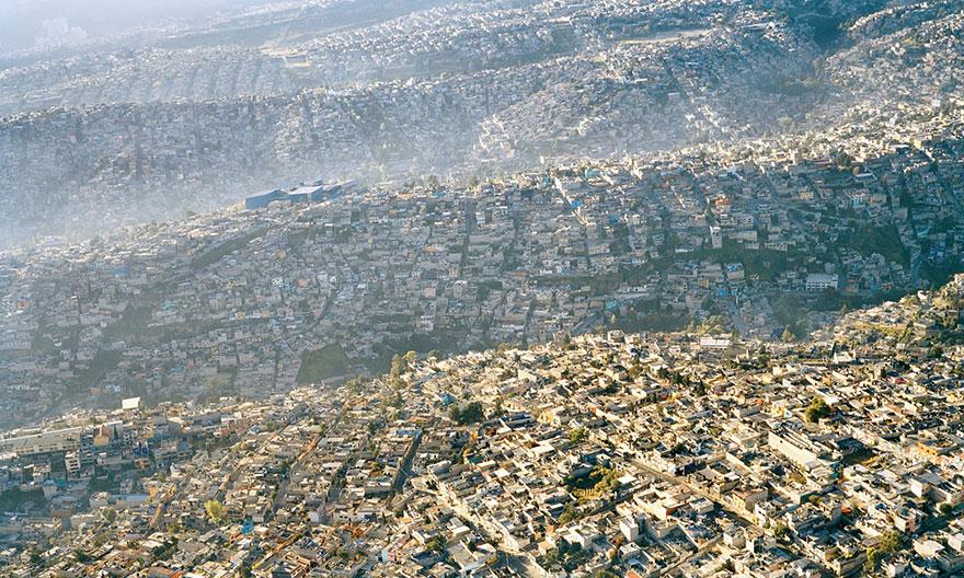 19. Mexico City Landscape, 20 Million Inhabitants