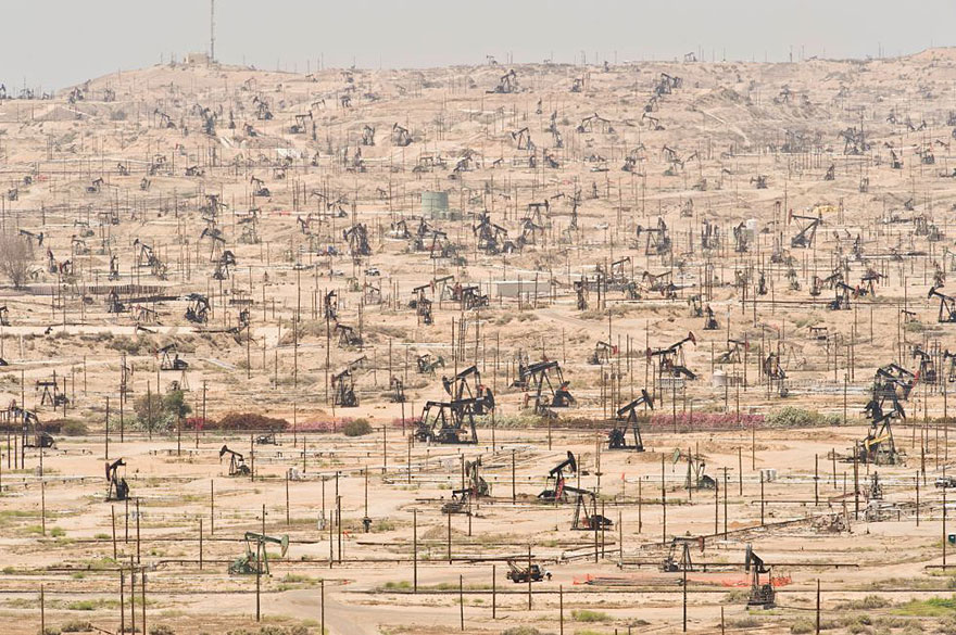 18. Ken River Oil Field, California