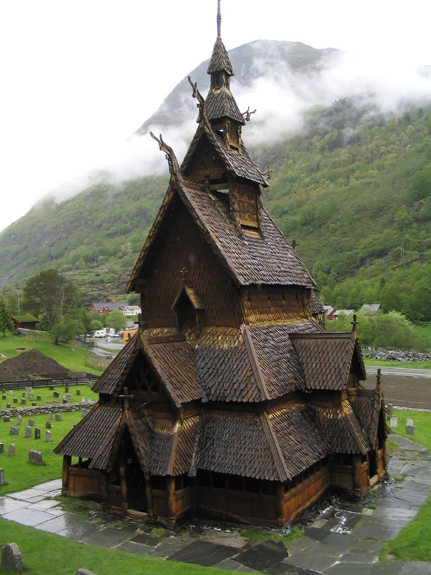 1. Borgound Stave Church