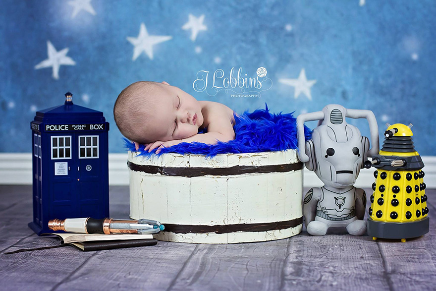10. Baby Doctor Who