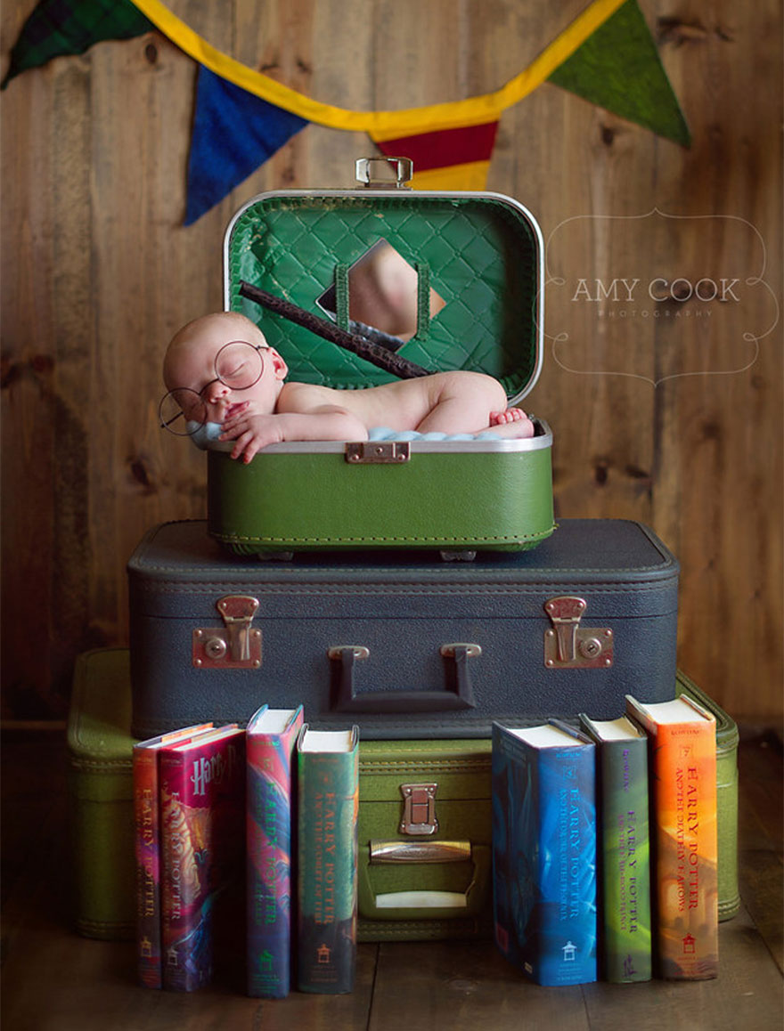 3. Baby Harry Potter