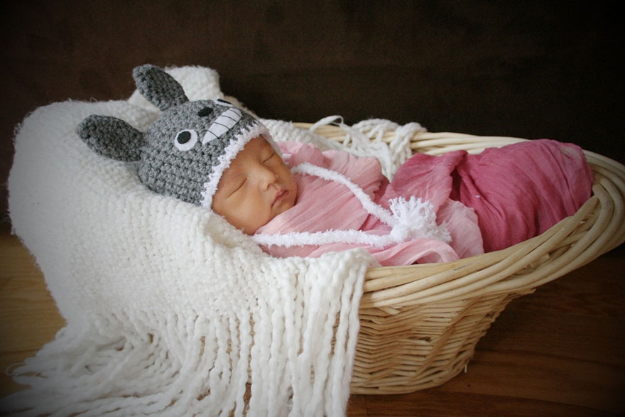 12. Baby Totoro