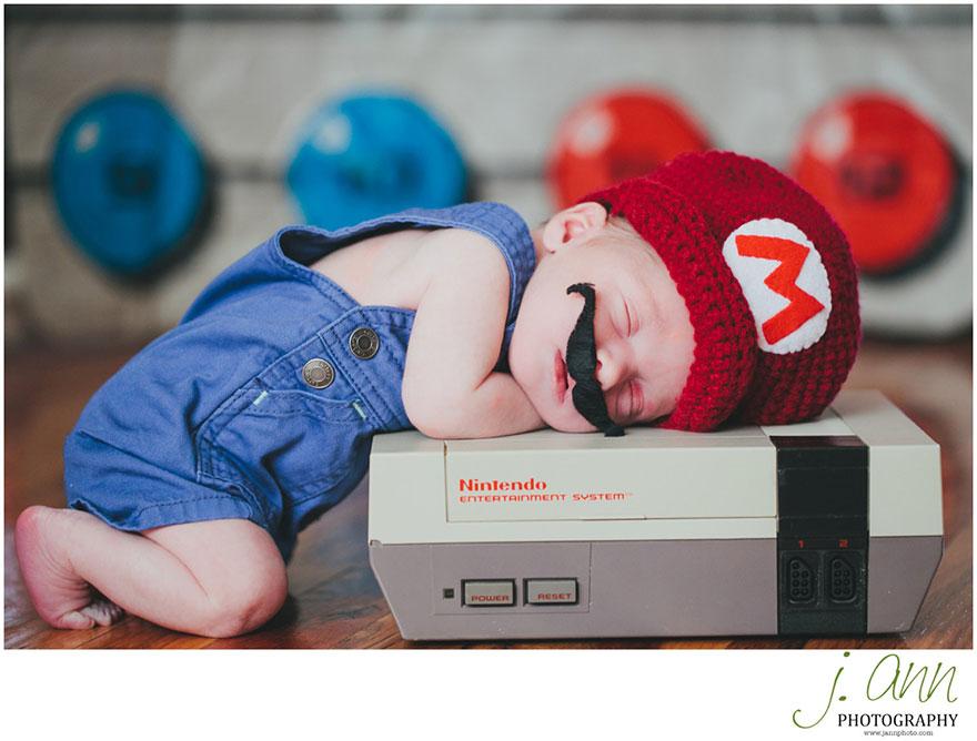 2. Baby Mario