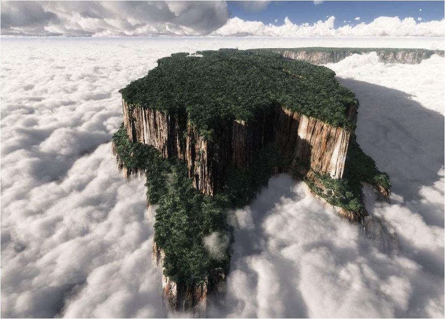 7. Monte Roraima – Venezuela