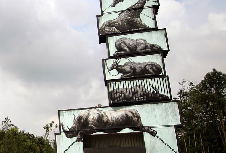 Captive animals