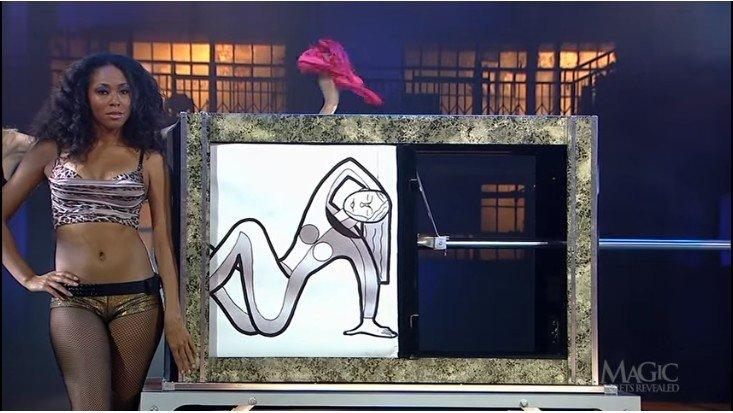 The girl crushe in a box