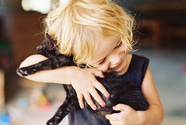 Pets make the bond between families even tighter