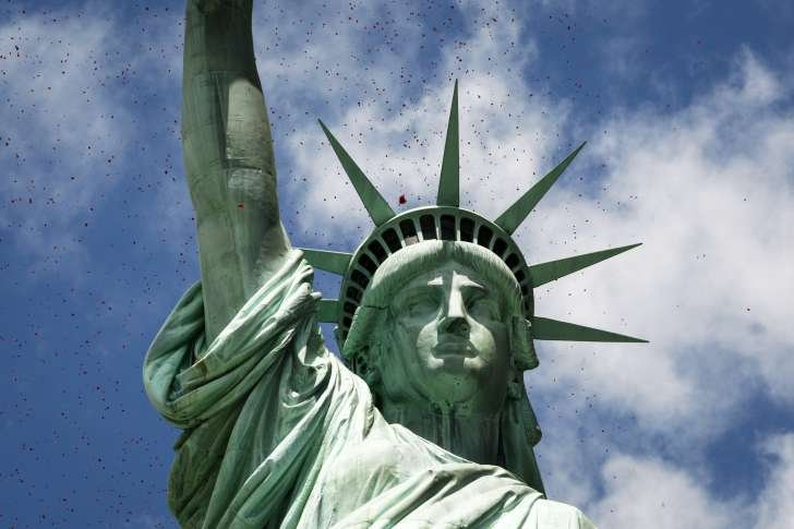 The disappearance of Statue of Liberty