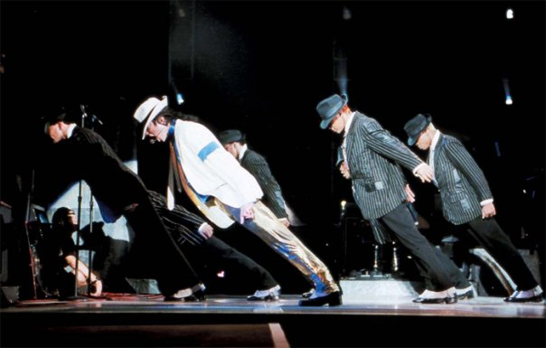 Michael Jackson's magic step