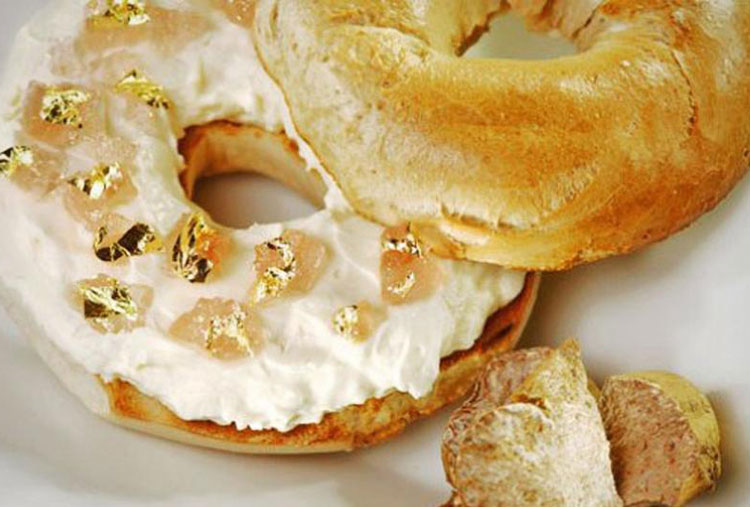 White Truffle Bagel