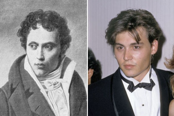Johnny Depp and Arthur Schopenhauer
