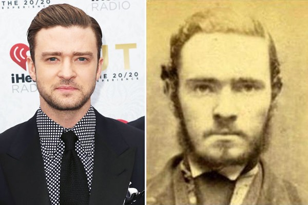 Justin Timberlake and a criminal