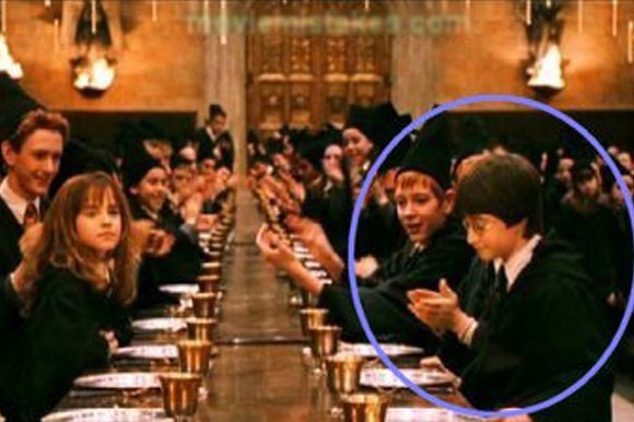 Check out the mistakes made in the Harry Potter movies