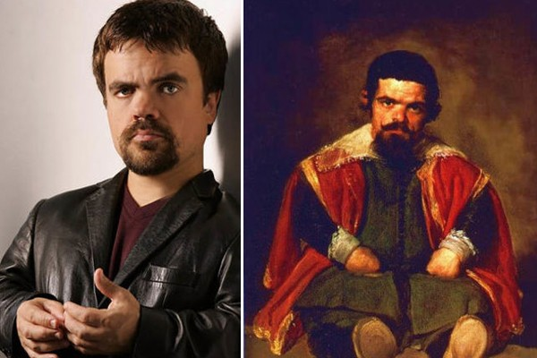Peter Dinklage and Sebastián de Morra