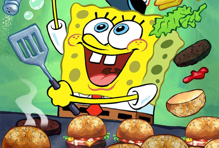 Krabby Patty burgers