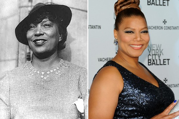Queen Latifah y Zora Neale Hurston