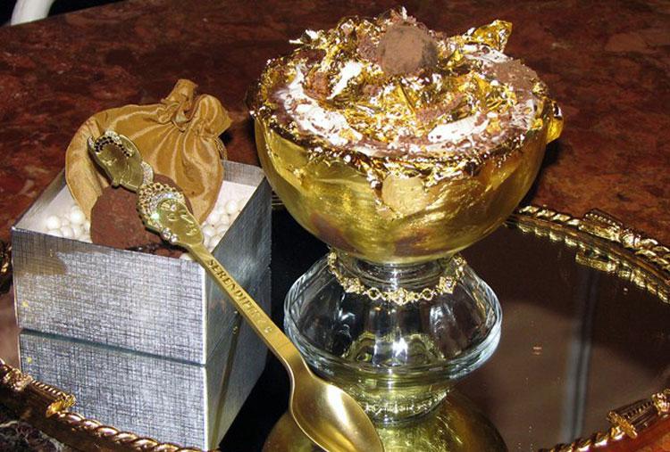 Luxurious ice-cream