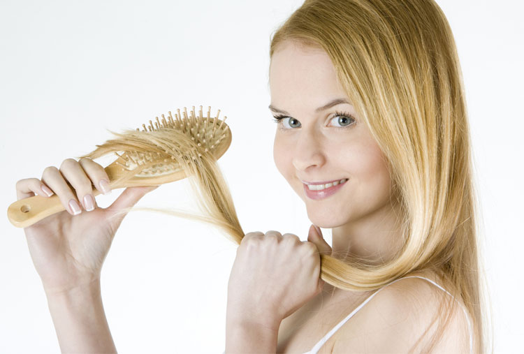 Brush your hair every day